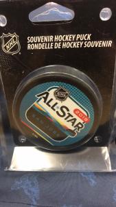 2019 San Jose Official AllStar puck.