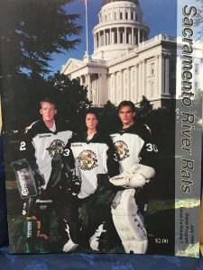 1996 RHI Roller Hockey program.  Volume 1.  Issue 2.  July 1996.