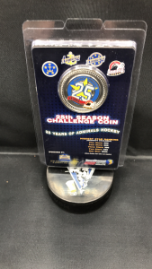 Norfolk Admirals 25th season Challenge coin.