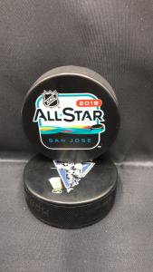 2019 San Jose AllStar Game Official souvenir puck.