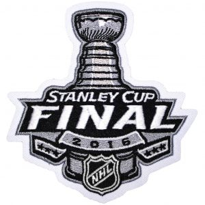 2016 NHL Stanley Cup Finals Patch. San Jose Sharks vs Pittsburgh Penguins.