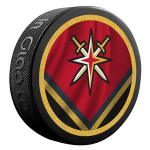 Coming soon. 2021 Las Vegas Golden Knights Retro 2 sided puck.
