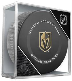 2021 Vegas Golden Knights Official Game Puck. Not game used.